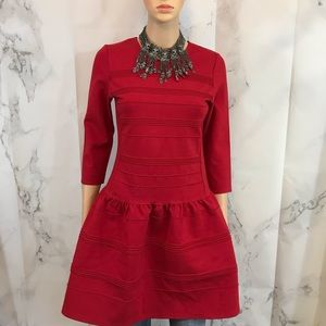 Dresses & Skirts - Vintage Pouf Dress with Gold Zippers